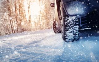 conduire par temps de neige